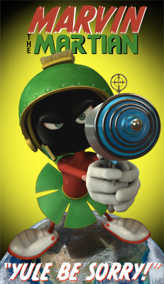 "Marvin the Martian ""Yule Be Sorry!"""