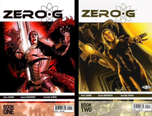 Zero-G issues 1 & 2