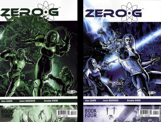 Zero-G issues 3 & 4